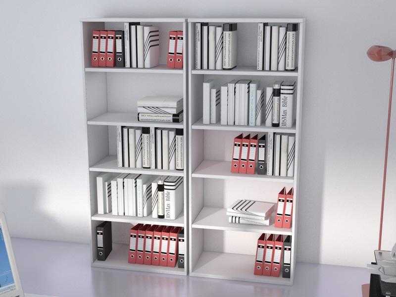 armoire haute ouverte unie l80 h197 comparer les prix de armoire haute ouverte unie l80 h197 sur. Black Bedroom Furniture Sets. Home Design Ideas
