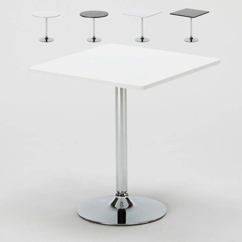 Set De 1 Table 2 Chaises Ensemble Table De Bar Bistrot 2