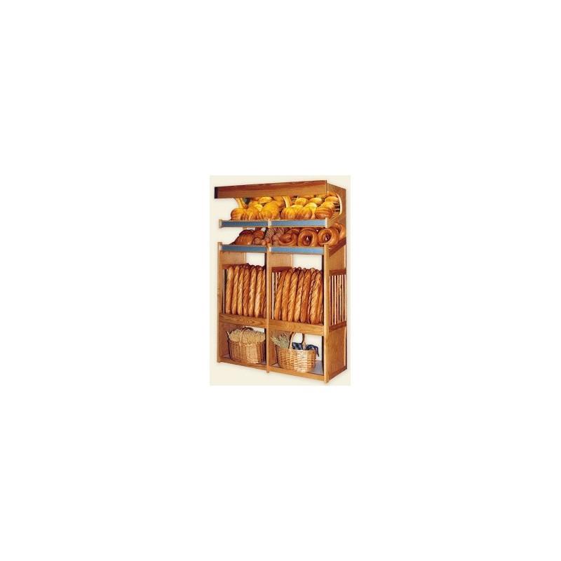 paneti re en bois 1 module boulangerie comparer les prix. Black Bedroom Furniture Sets. Home Design Ideas