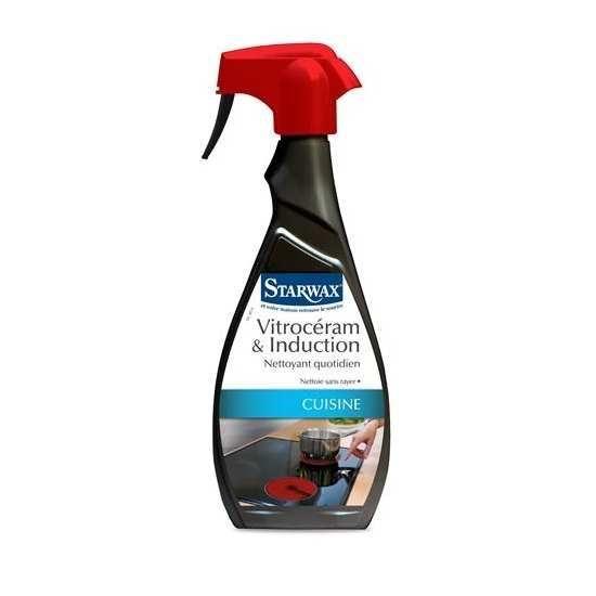 spray nettoyant vitroceramique et induction 500ml starwax. Black Bedroom Furniture Sets. Home Design Ideas