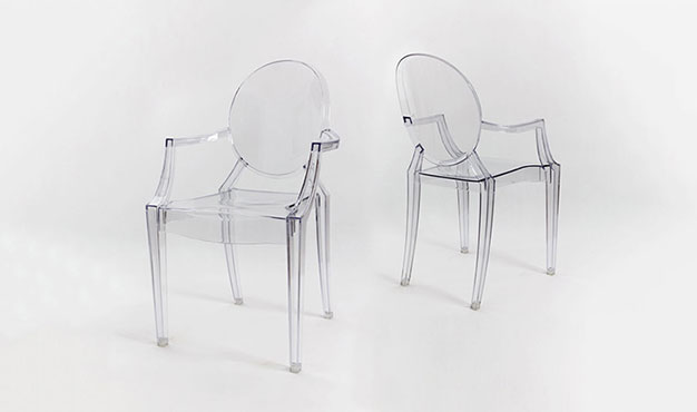 Fauteuil design transparent style louis xvi - ghost - HOUSE AND ...