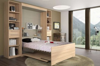 lits escamotables amenage infinitive2 deux places. Black Bedroom Furniture Sets. Home Design Ideas