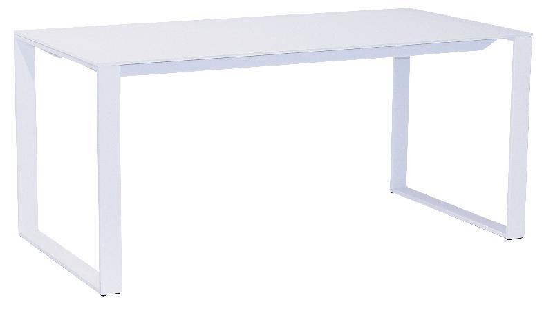 Achat vente de comparez les prix sur for Bureau en verre blanc