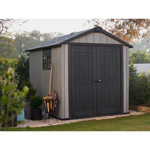 Abris de jardin chalet jardin achat vente de abris for Abri jardin resine gris