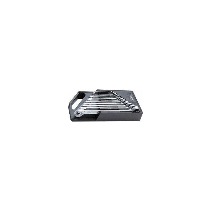 JEU DE CLÉS POLYGONALES DOUBLES DIN837B 6-32MM 12 PIÈCES HAZET 1 PCS - HAZET-WERK H. ZERVER GMBH & CO. KG