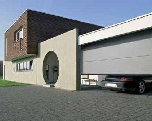 Portes de garage sectionnelles lpu40 a rainures l 2250 de for Porte de garage sectionnelle 3m de large