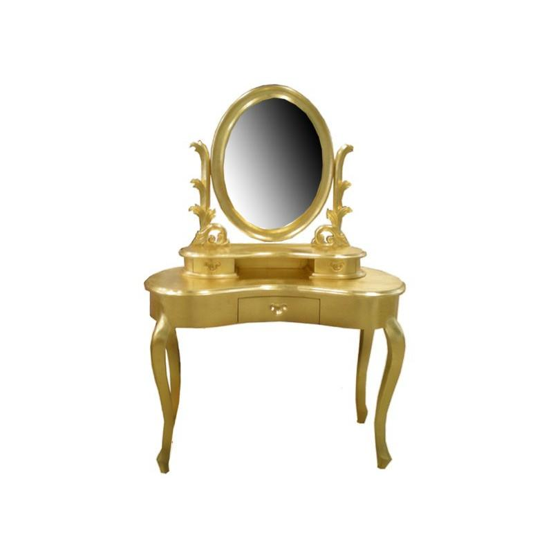 Coiffeuse tous les fournisseurs commode siege malle a tiroirs - Coiffeuse baroque blanche ...