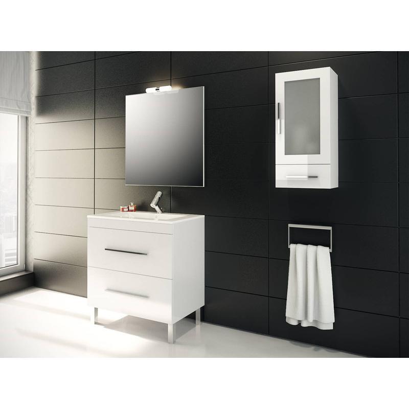 Mobiliers de salle de bain mennza achat vente de for Ensemble meuble salle de bain 90 cm