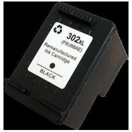 HP OFFICEJET 3800 SERIES/DESKJET 1110/ENVY4520 (F6U68AN 302XL) 18ML H302XLBK