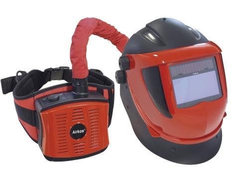 MASQUE DE SOUDURE LCD AVEC PROTECTION RESPIRATOIRE  NAVITEK 5-8 / 9...
