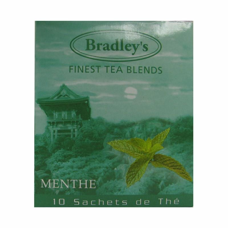 TH&EACUTE  PARFUM&EACUTE  BRADLEY'S MENTHE - 10 SACHETS