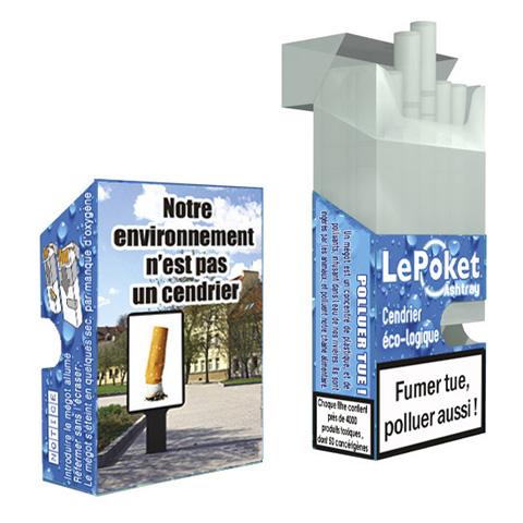 Célèbre Cendriers de poche - tous les fournisseurs - cendrier de poche eco  KK37