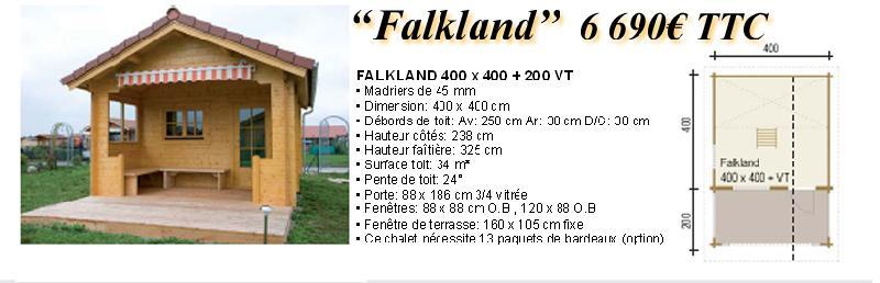 Chalet en bois falkland for Fenetre 80x160