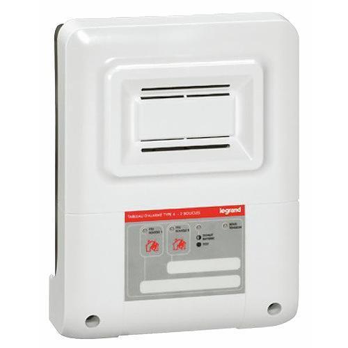 Kit tableau d 39 alarme incendie 230v de type 4 legrand - Telecommande eclairage exterieur legrand ...