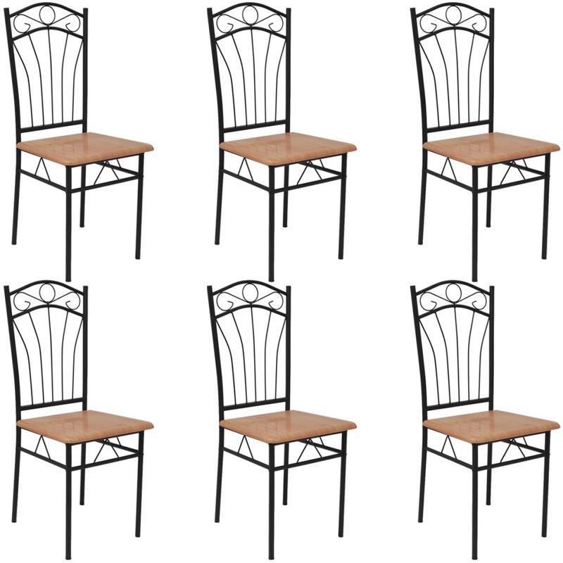Chaises pour salles manger comparez les prix pour for Chaise salle a manger vidaxl