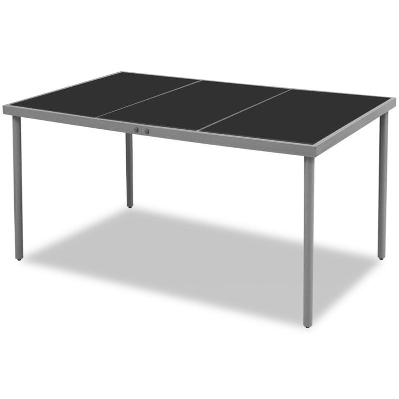 tables manger vidaxl achat vente de tables manger vidaxl comparez les prix sur. Black Bedroom Furniture Sets. Home Design Ideas