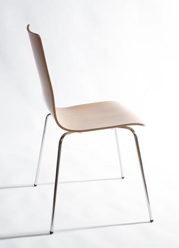 chaise 4 pieds coque bois fimo. Black Bedroom Furniture Sets. Home Design Ideas