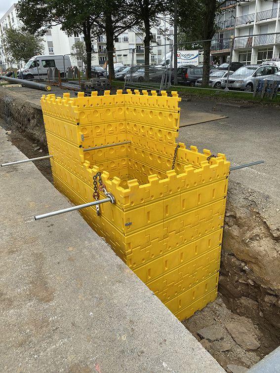 Kit de blindage de fouilles  kit 7 2,5mx1,5mx0,65m
