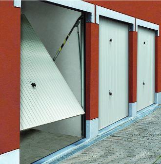 Tubauto produits portes de garage basculantes - Porte de garage basculante non debordante tubauto ...