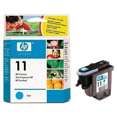 TÊTES DIMPRESSION HP 11 ORIGINAL C4811A CYAN  POUR HP COLOR INKJET CP 1700