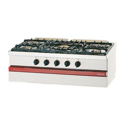 Fourneaux comparez les prix pour professionnels sur - Cuisiniere 5 feux gaz ...