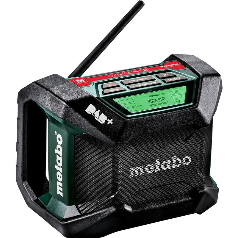 RADIO DE CHANTIER SANS FIL METABO R 12-18 DAB+ BT (MACHINE SEULE) 230V/12/18V LI-ION
