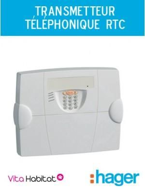 transmetteur t l phonique rtc alarme radio hager logisty s495 22f comparer les prix de. Black Bedroom Furniture Sets. Home Design Ideas