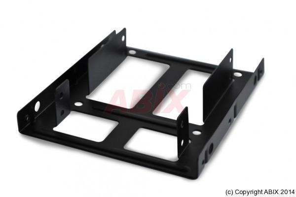 MAXINPOWER ADAPTATEUR HDD/SSD 2 DISQUES 2.5'' EN BAIE 3.5''