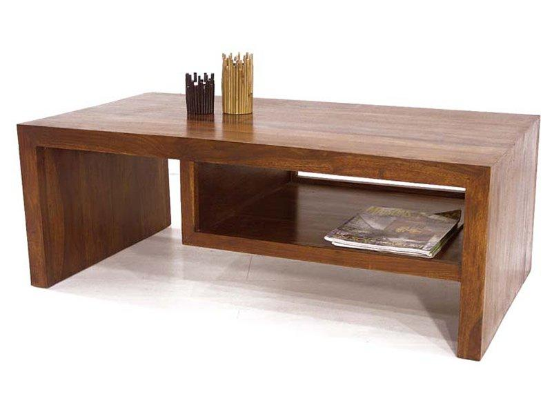 table basse woody en bois palissandre style colonial modern. Black Bedroom Furniture Sets. Home Design Ideas