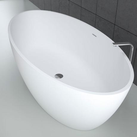 baignoire ilot solid surface 155x78cm 39 space 39 comparer les. Black Bedroom Furniture Sets. Home Design Ideas
