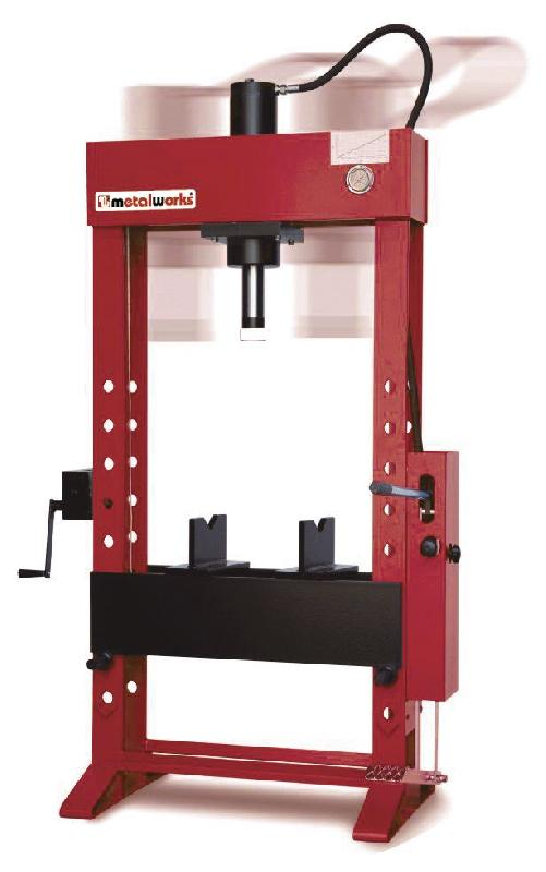 Presse hydraulique d'atelier manuelle 30 t mw-tools catoma30s