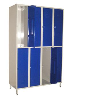 demi casier vestiaire 4 colonnes 8 casiers. Black Bedroom Furniture Sets. Home Design Ideas