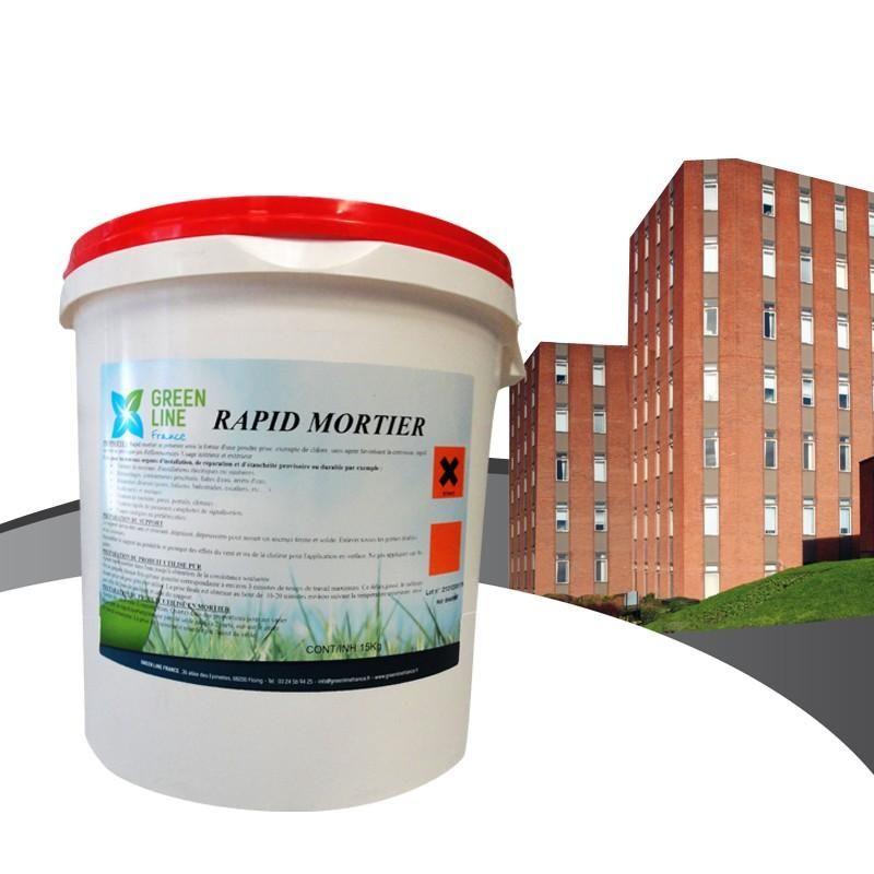 Rapid mortier référence  rou-rapmorsea/15kg
