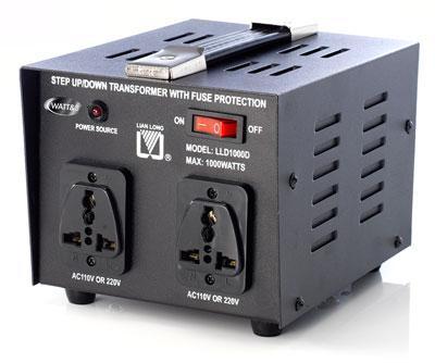 CONVERTISSEUR SECTEUR AUTOMATIQUE 110V - 220V - 1000W