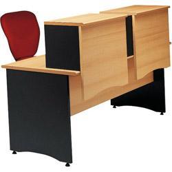 Surmeuble poser sur table bureau 80 cm pour former for Table bureau noir