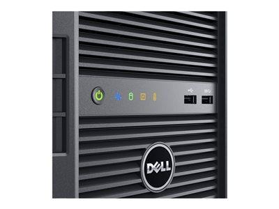 DELL POWEREDGE T130 - SERVEUR - MT - 1 VOIE - 1 X XEON E3-1220V5 / 3 GHZ - RAM 8 GO - HDD 2 X 1 TO - GRAVEUR DE DVD - MATROX G200 - GIGE - AUCUN SE FOURNI - MONITEUR : AUCUN - BTO