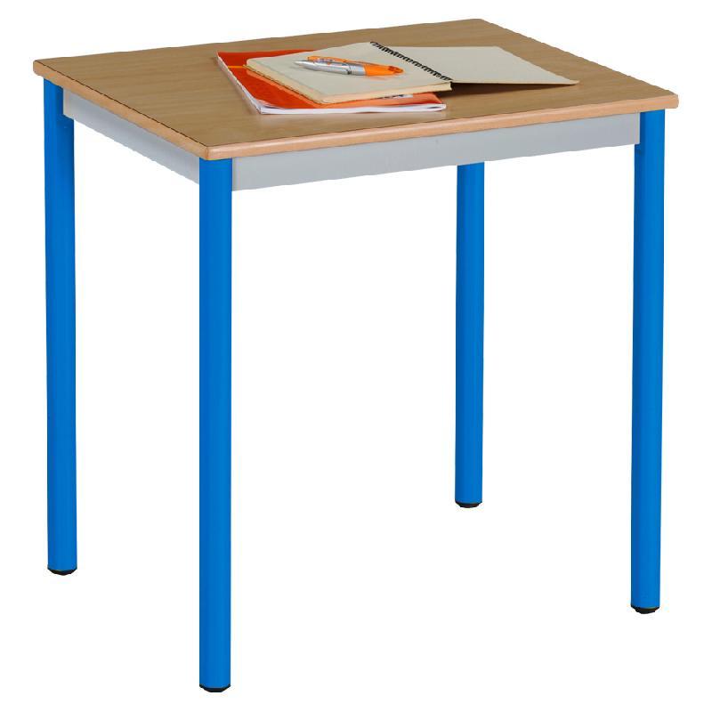 Table scolaire achat vente table scolaire au meilleur for Table 4 pieds