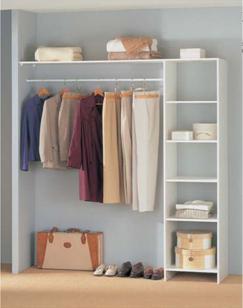 Placard de chambre tous les fournisseurs armoire de - Amenagement de placard castorama ...