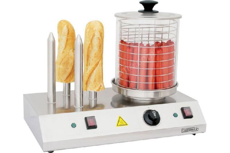 Appareil hot dog professionnel table de cuisine for Achat materiel de cuisine professionnel