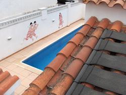 Chauffage solaire pour piscine capteurs sunny flex et for Piscine simulator flex
