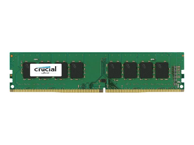 CRUCIAL - DDR4 - 8 GO - DIMM 288 BROCHES - MÉMOIRE SANS TAMPON