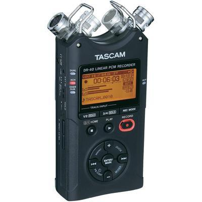 ENREGISTREUR AUDIO MOBILE TASCAM DR-40 NOIR