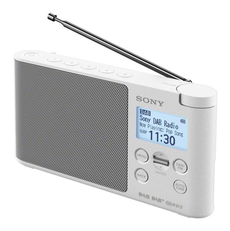 RADIO PORTABLE NUMÉRIQUE BLANC - XDRS41DBP BLANC - SONY