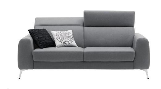canape lit madison avec appuie tete reglables h82 103xl210xp107 210cm. Black Bedroom Furniture Sets. Home Design Ideas