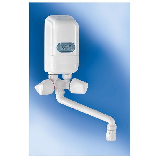 DAFI SYSTEMS CHAUFFE-EAU 5,5 KW + ROBINET BLANC MINI CHAUFFE-EAU