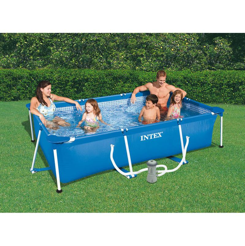 Piscine bois intex for Piscine intex
