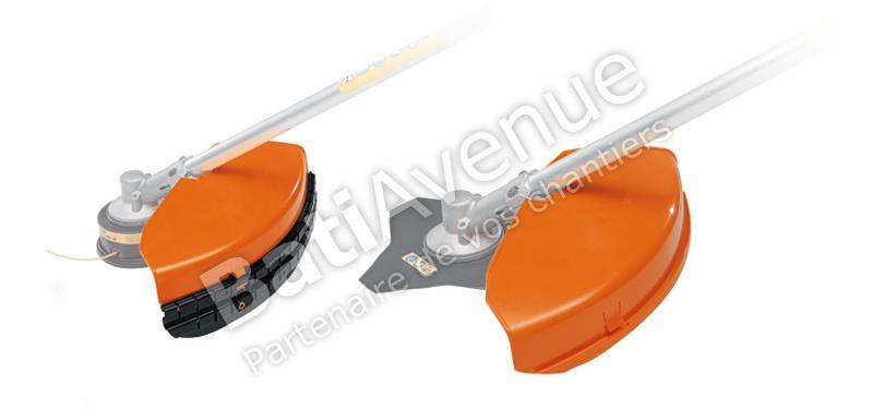 STIHL-  CAPOT DE PROTECTION STIHL COMPLET POUR OUTIL FIL ET METALLIQUE Ø 420MM- 41160071020