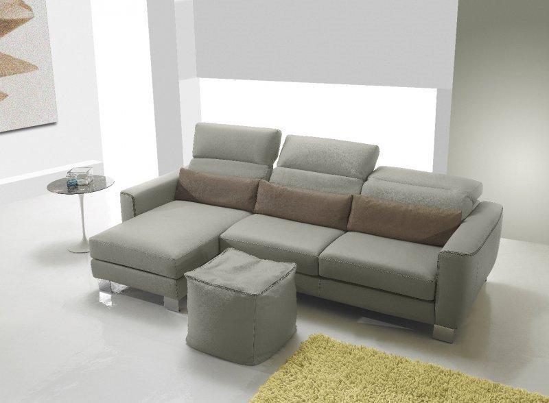 canape d 39 angle gauche zucchero en cuir. Black Bedroom Furniture Sets. Home Design Ideas