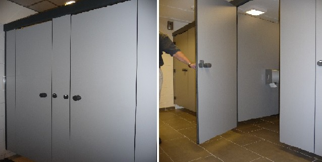 Top 10 des cloisons pour sanitaires et vestiaires sur - Porte sectionnelle industrielle occasion ...