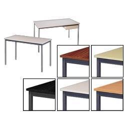 Table pliante rectangulaire 120 l x 60 p x 74 h cm - Table pliante 120 x 60 ...